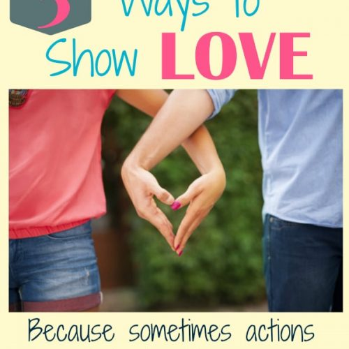Love can have a short shelf life you if you aren't showing it frequently