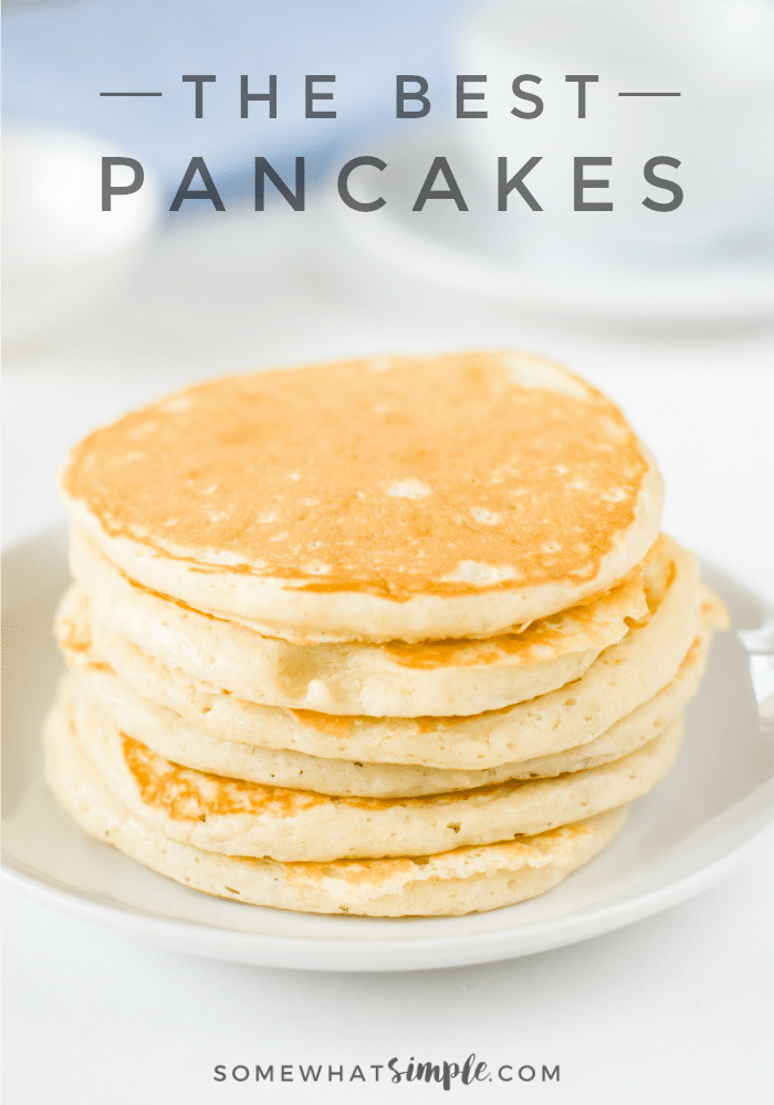 Simple pancake recipe for the best homemade pancakes ever a 15 year quest to duplicate grandmas famous pancake recipe results in the discovery of ccuart Choice Image