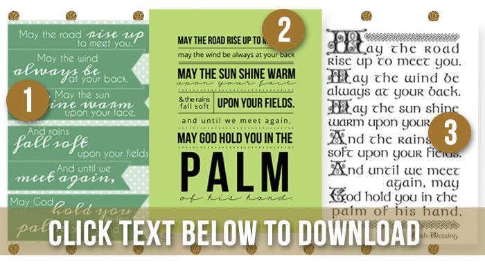 irish blessing download