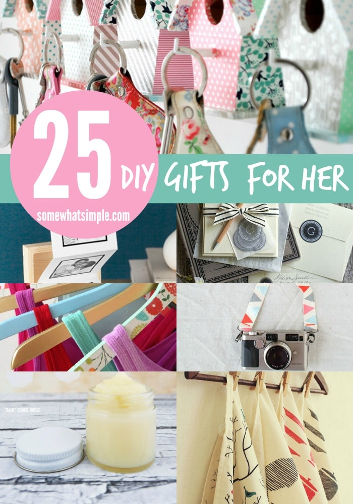 25 diy gifts for her