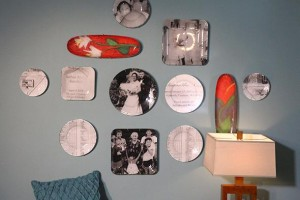 Decoupage Wall Gallery