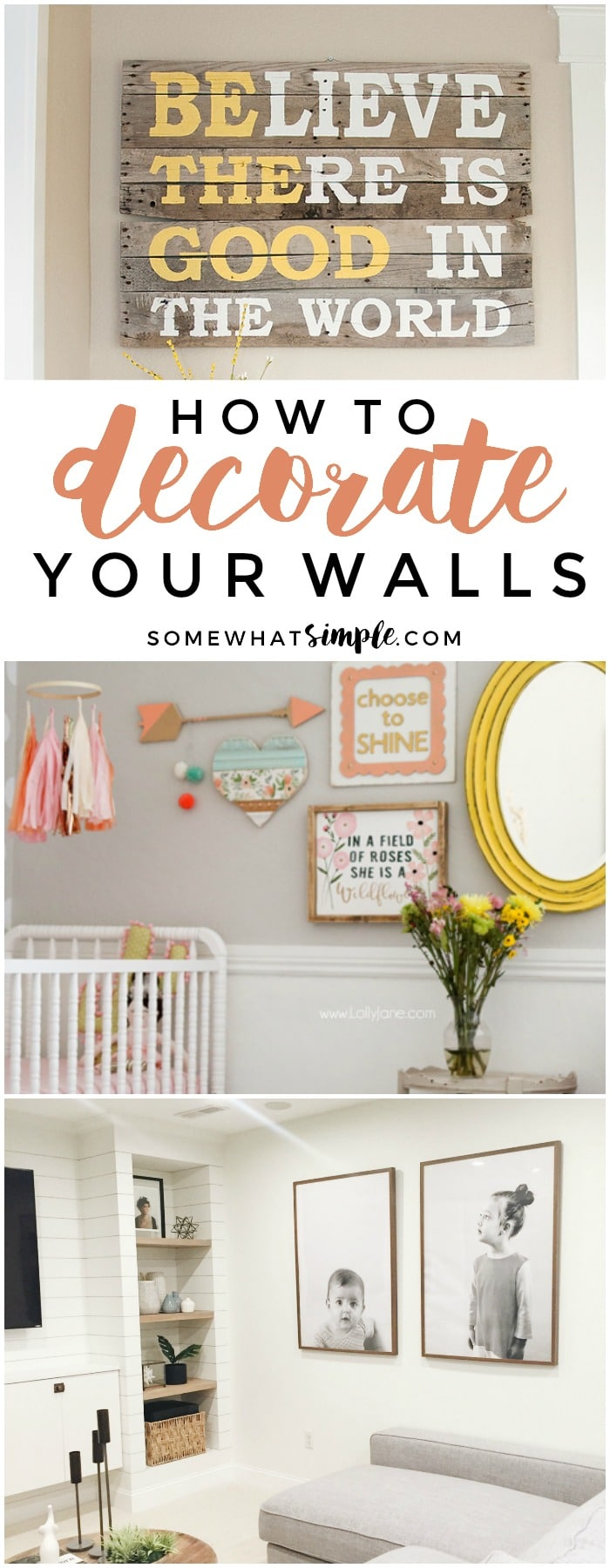 Today Weu0027re Featuring Some Of Our Favorite Wall Decor Ideas To Help Make  Your