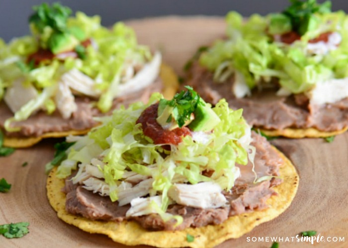 The Best Homemade Tostadas