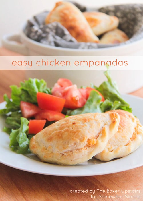 Easy Chicken Empanadas - Somewhat Simple