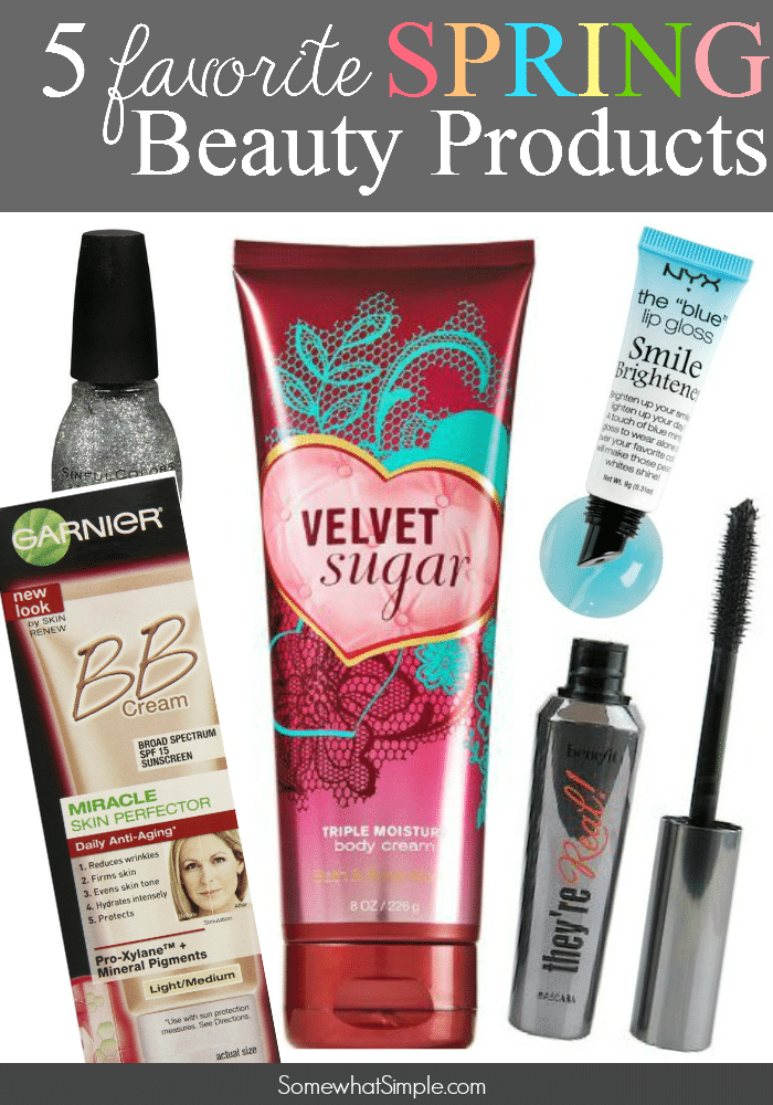 favorite spring beauty products