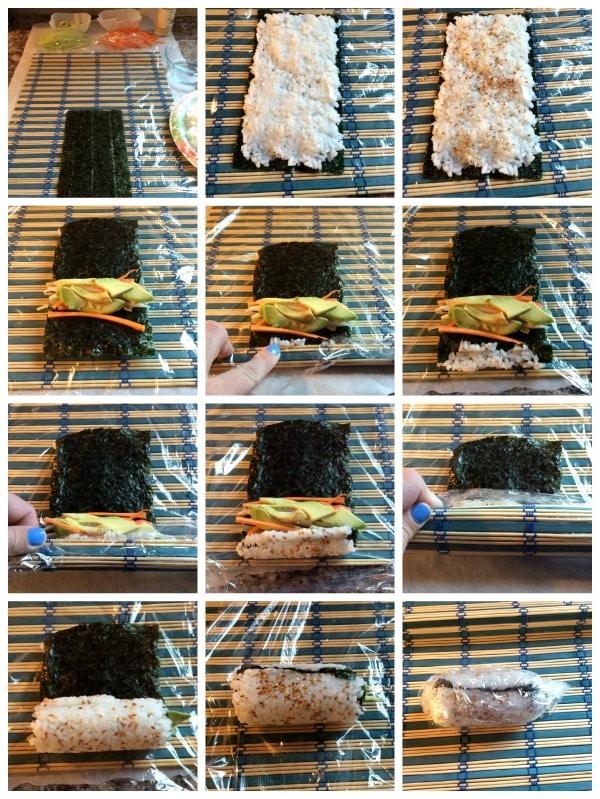 Diy Sushi Recipe California Roll Somewhat Simple