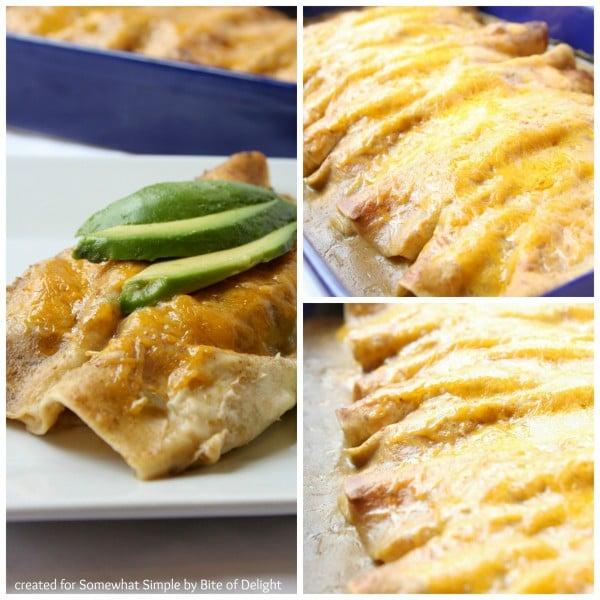 Chicken Enchiladas Collage 3