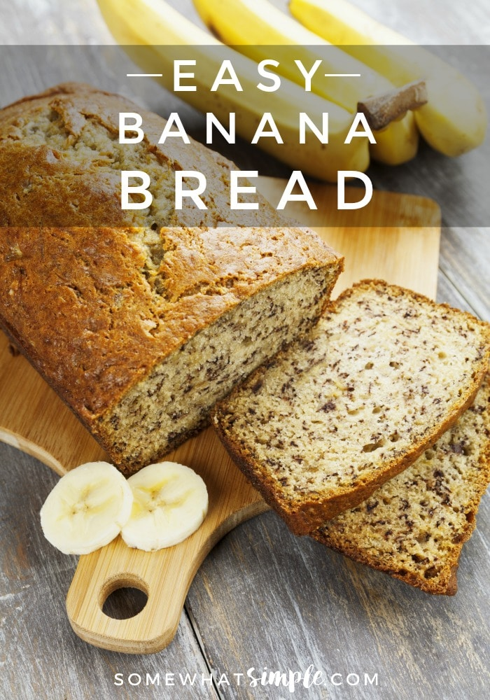 Anyone looking for an EASY Banana Bread recipe? You've come to the right place!