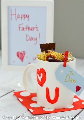 I {heart} Dad-Father's Day Kid Craft