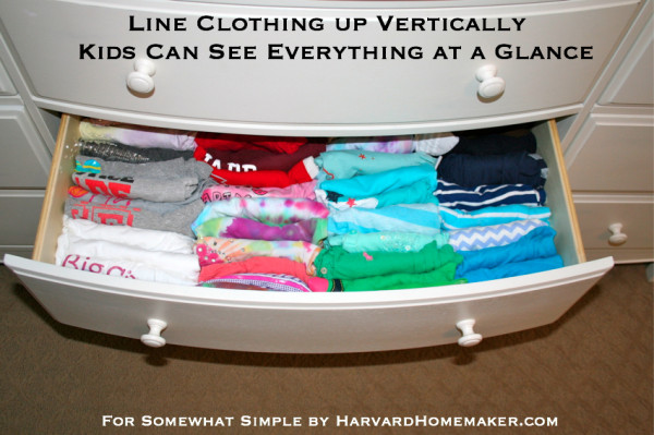 Kids Pitch In_Line Clothes Up Vertically