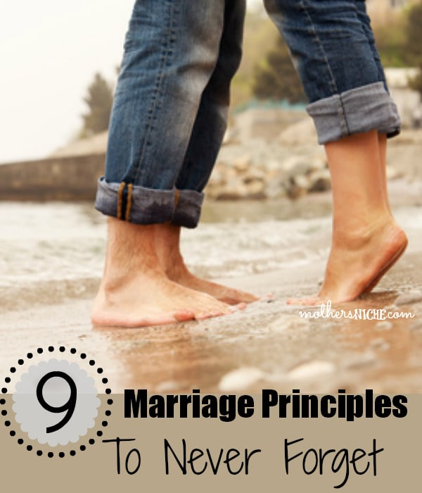 Great read! Marriage principles to never forget!