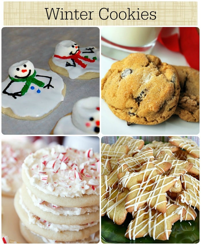 10 winter cookies