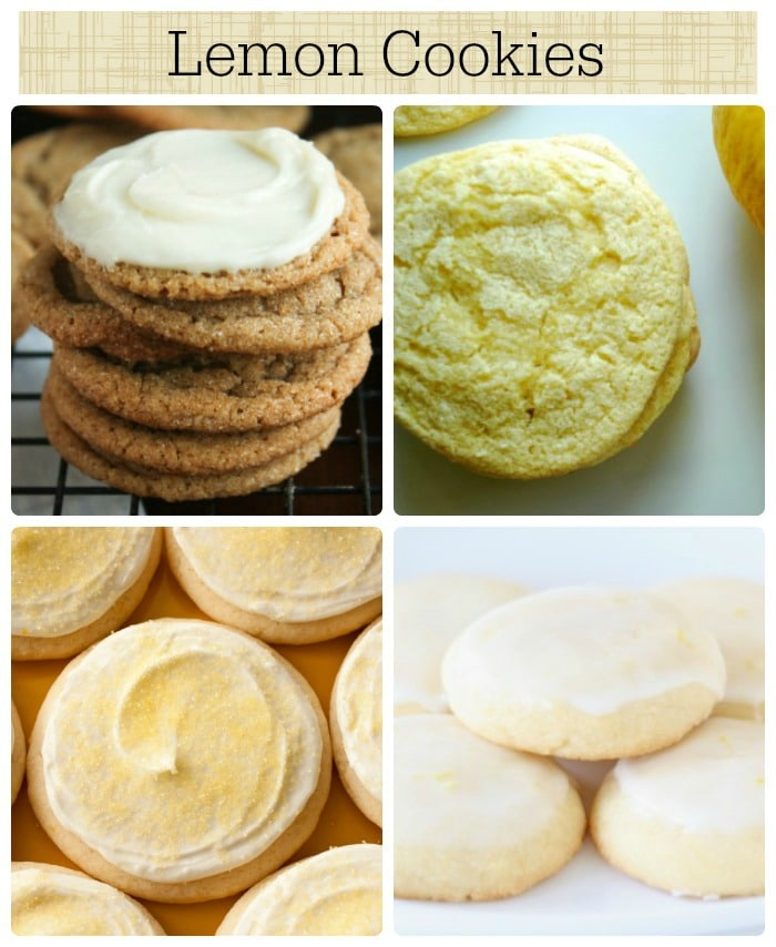 11 lemon cookies