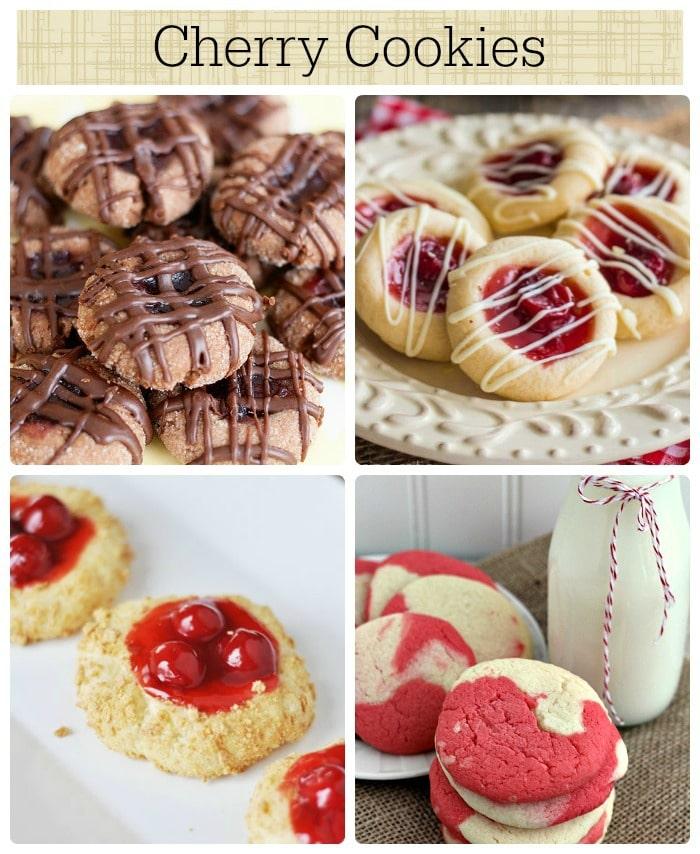 12 cherry cookies