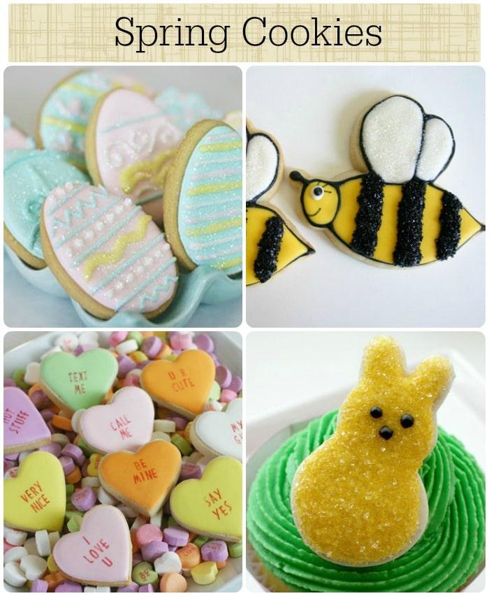7 spring cookies