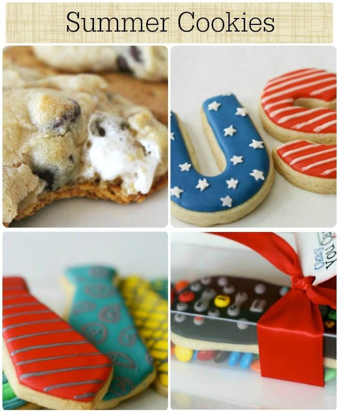 8 summer cookies