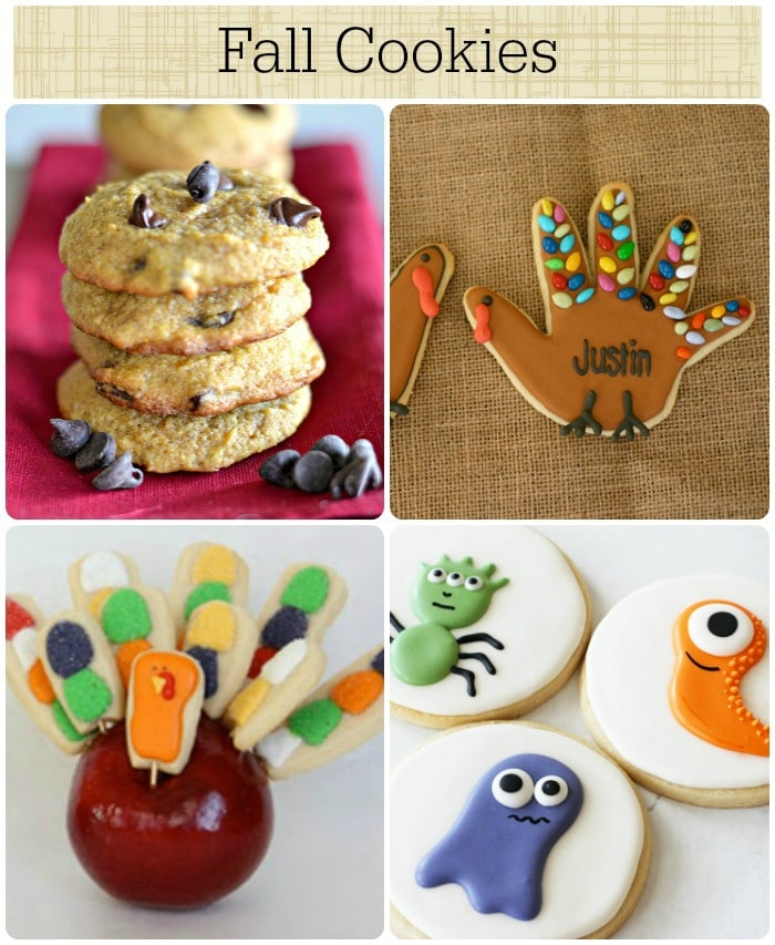 9 fall cookies