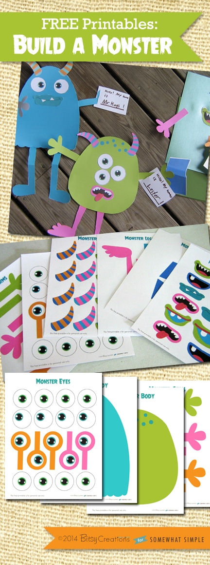 Monster Mouth Printables a Monster Free Printable