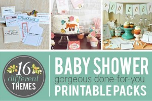baby show printables