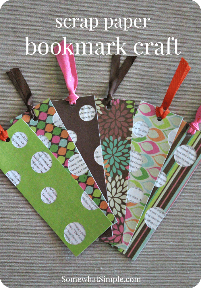Bookmark Craft For Kids amp A Book Review Somewhat Simple