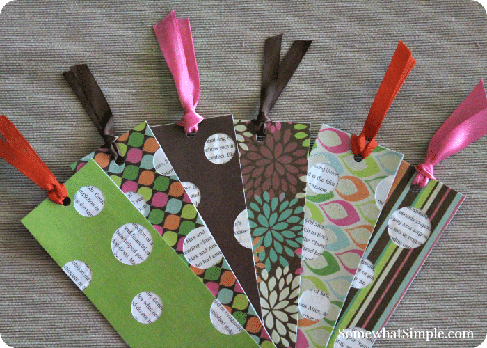 bookmark craft for kids & a book review