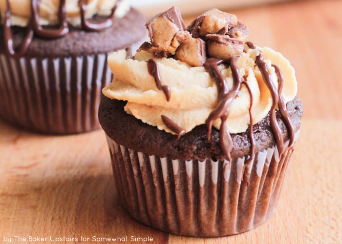 Reese's Chocolate Peanut Butter Cupcakes