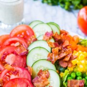 a blt chopped summer salad recipe