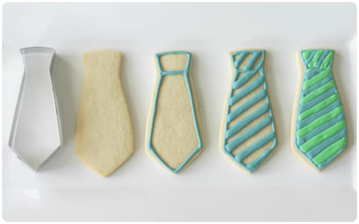 tie cookies for fathers day somewhat simple. Black Bedroom Furniture Sets. Home Design Ideas