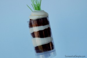 Carrot Cake Push Pop Treats