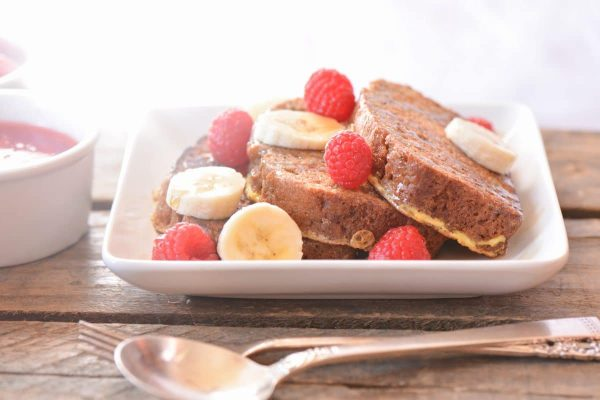 Zucchini Bread French Toast - Somewhat Simple