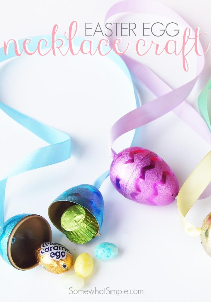 Easy Easter Egg Necklace Craft