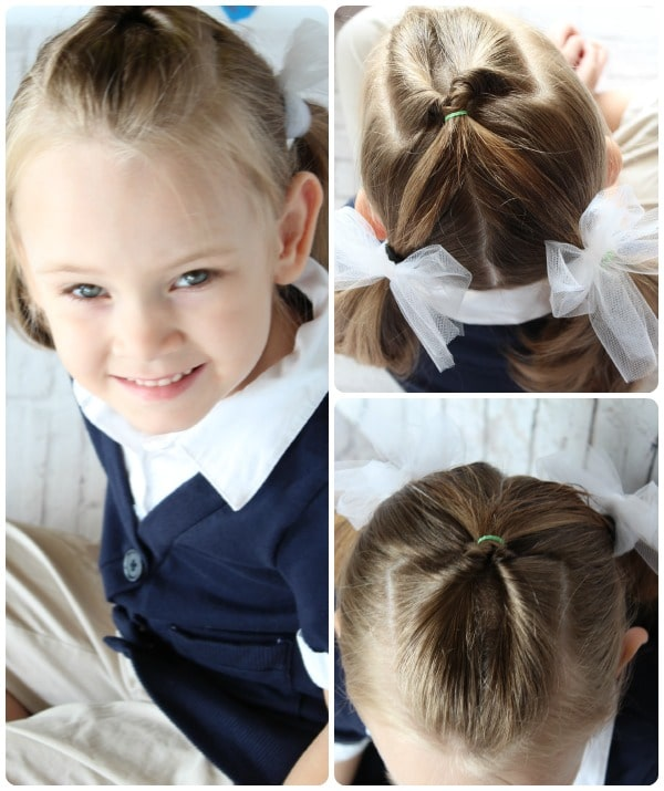 Easy Hairstyle For Little Girls