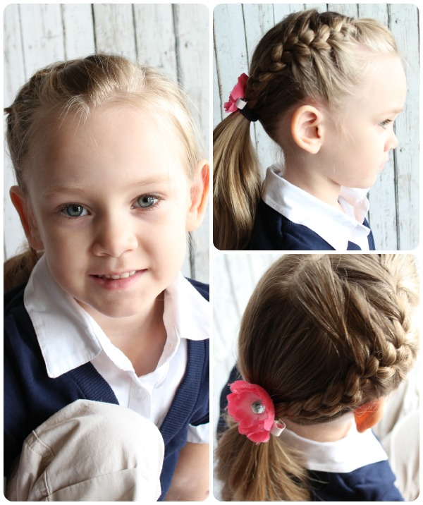 easy updos for little girl