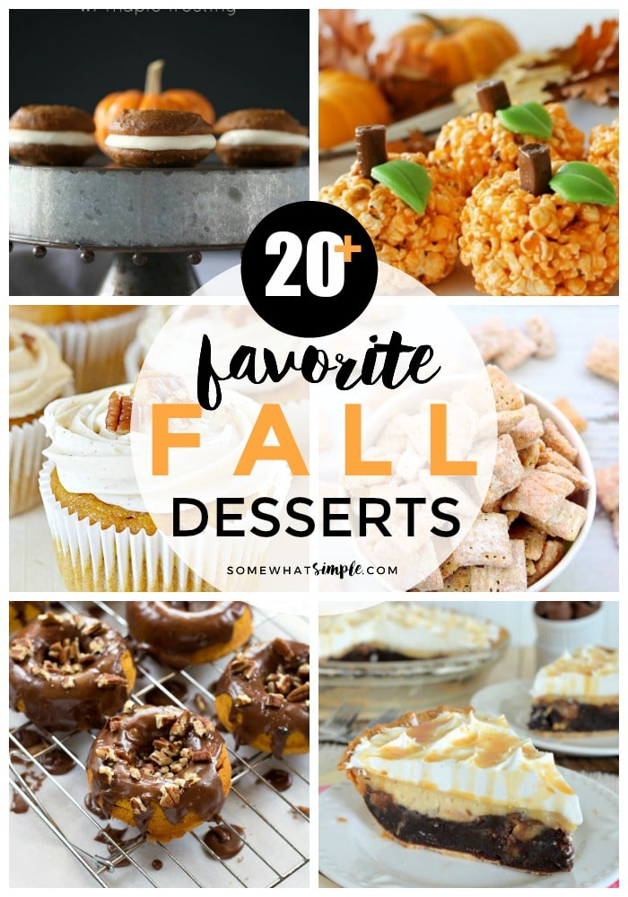 20 Favorite Fall Desserts and Treats