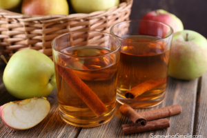 apple cinnamon cider