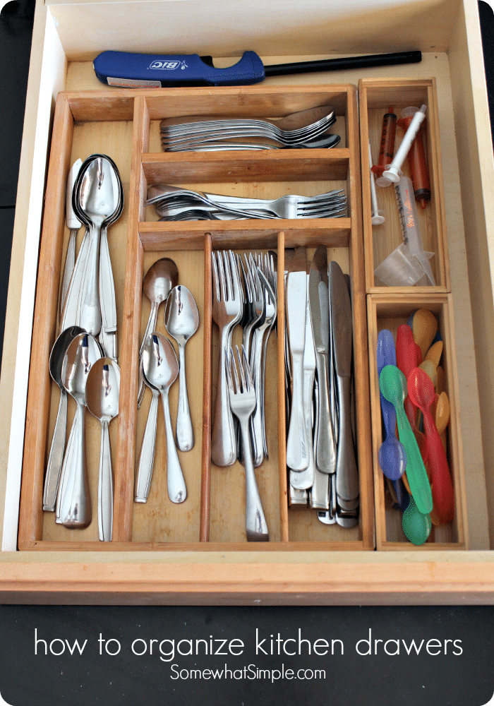 how to organize your kitchen drawers how to organize kitchen drawers somewhat simple 8782