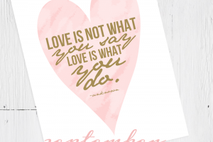 love is free printable