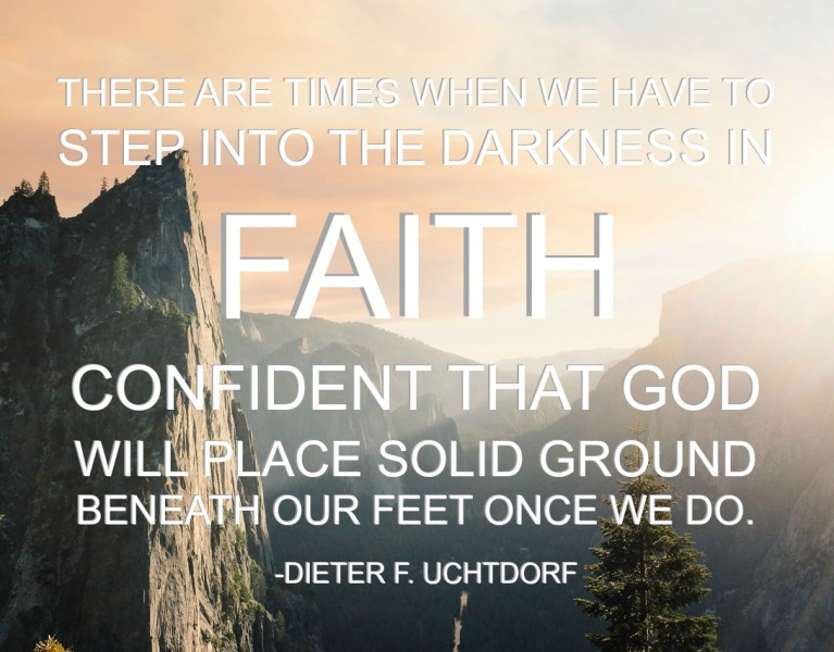 step in faith