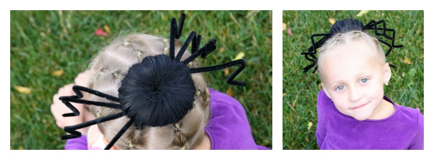Spider Hair Collage 7