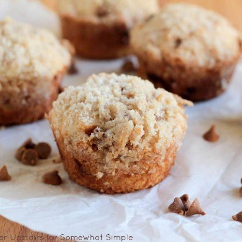 Banana Cinnamon Streusel Muffins