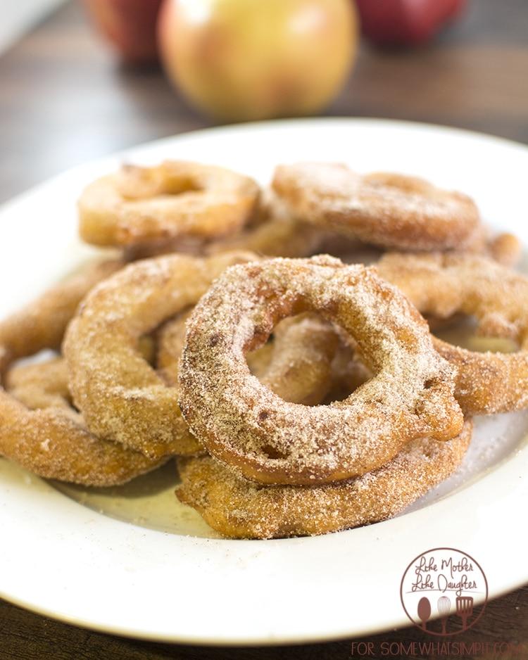 cinnamon sugar fried apple rings 3