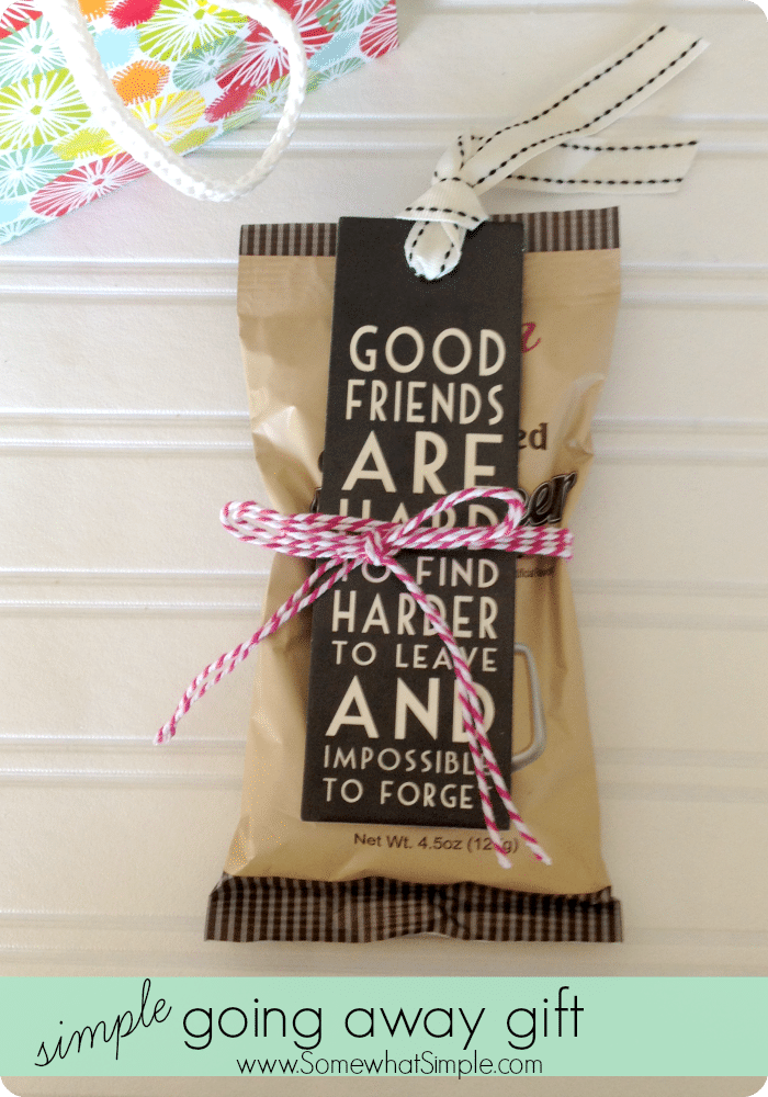 Going away gifts for friends 3 simple ideas from Easy gift ideas for friends