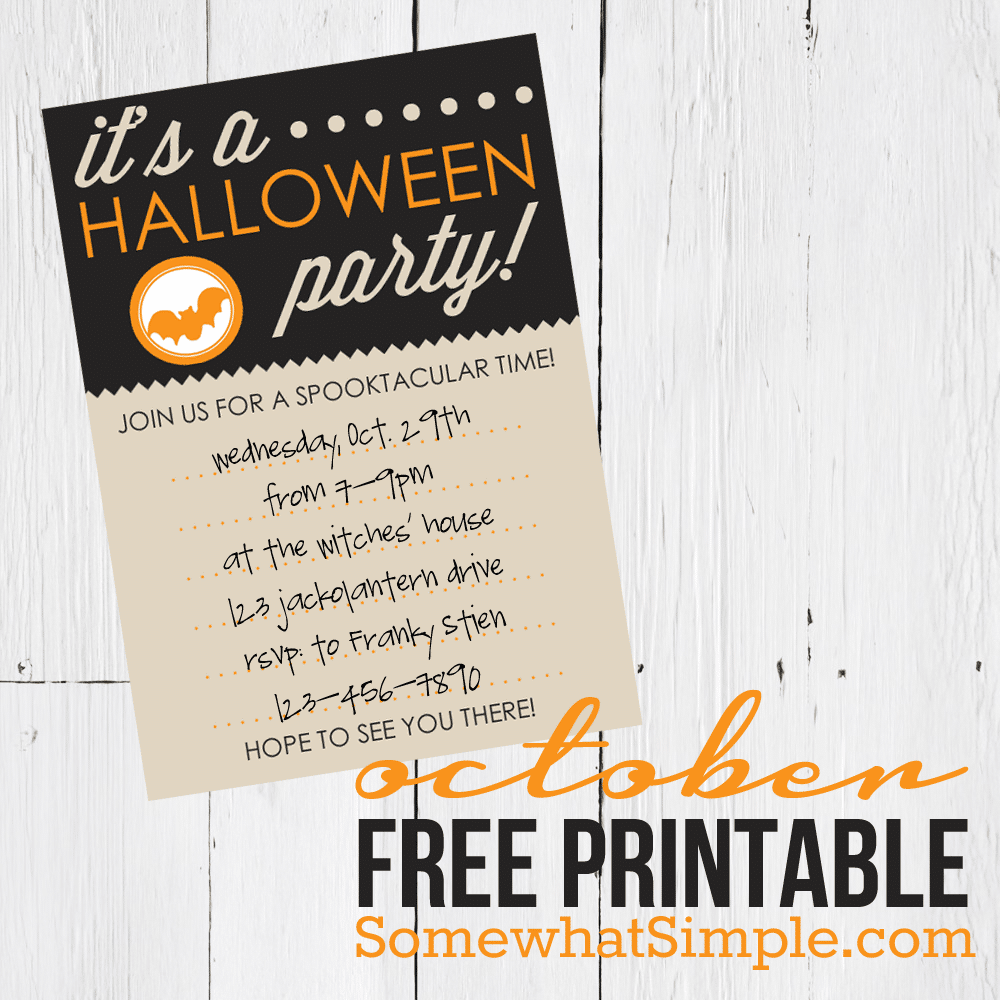 Protected: October's Free Printable