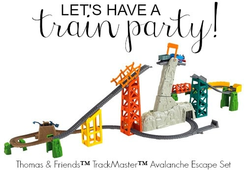 thomas & friends train party- how to make a train cake