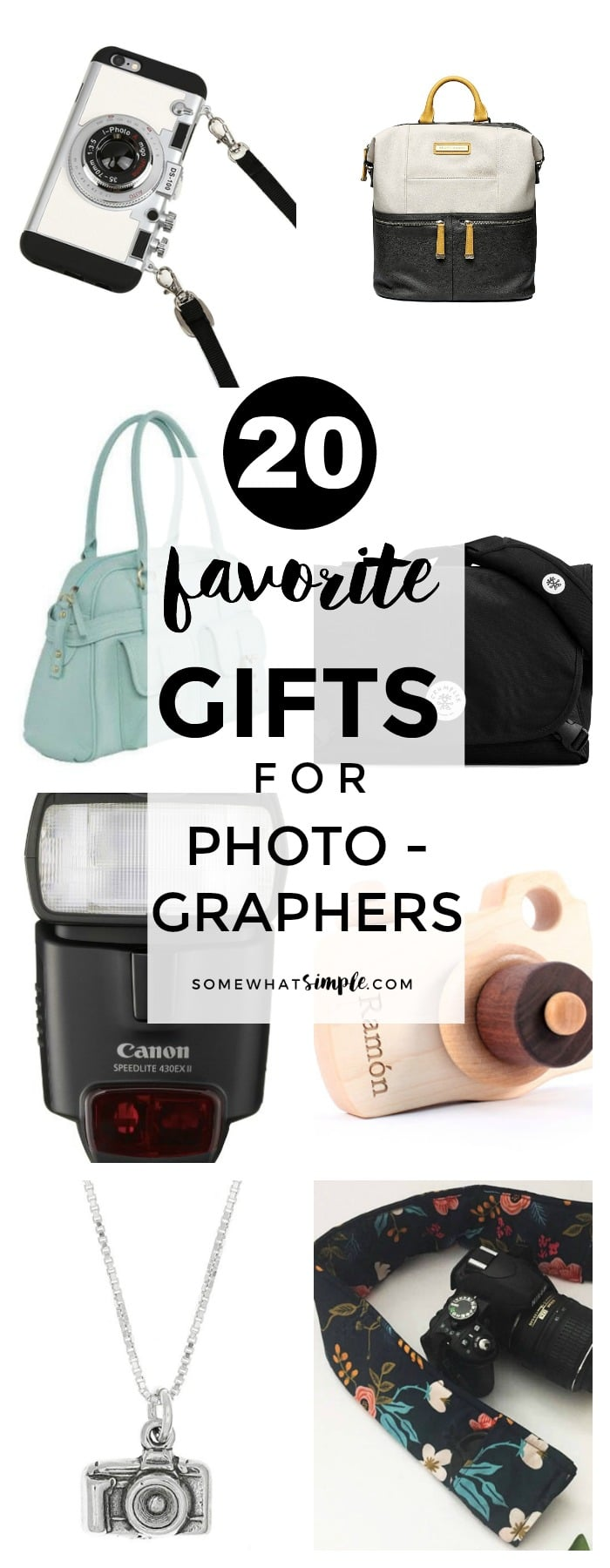 20 Favorite Gifts for Photographers
