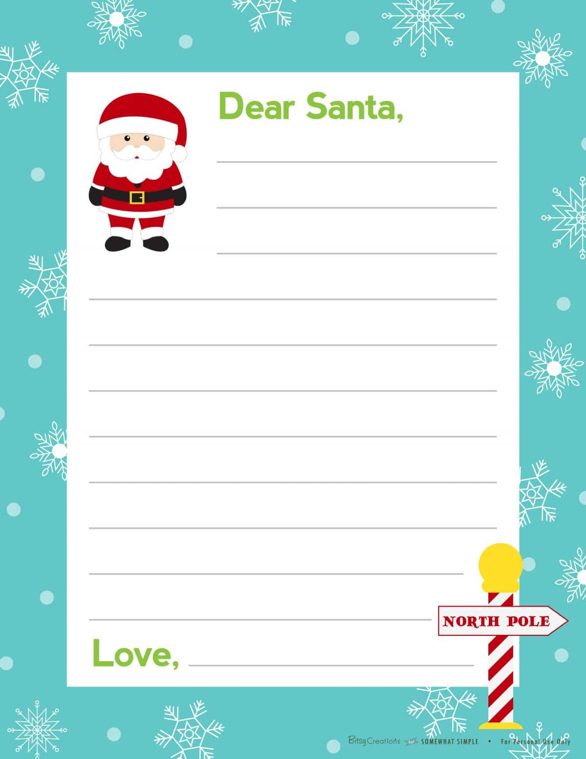 "Search Results for ""Free Letters From Santa To Print"" – Calendar ..."