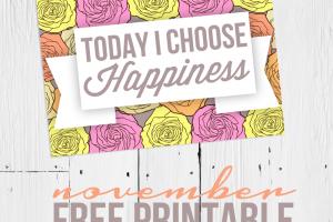 happiness free printable