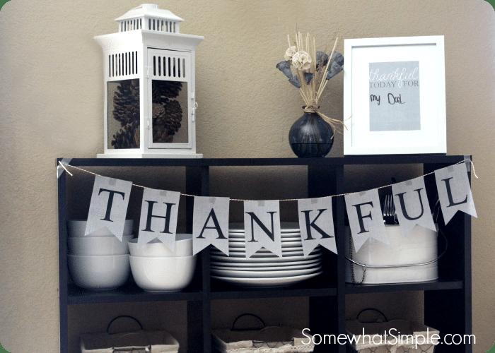Thanksgiving Banner | Thanksgiving Home Decor Ideas