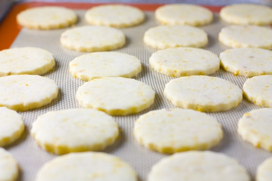 Orange Zested Shortbread
