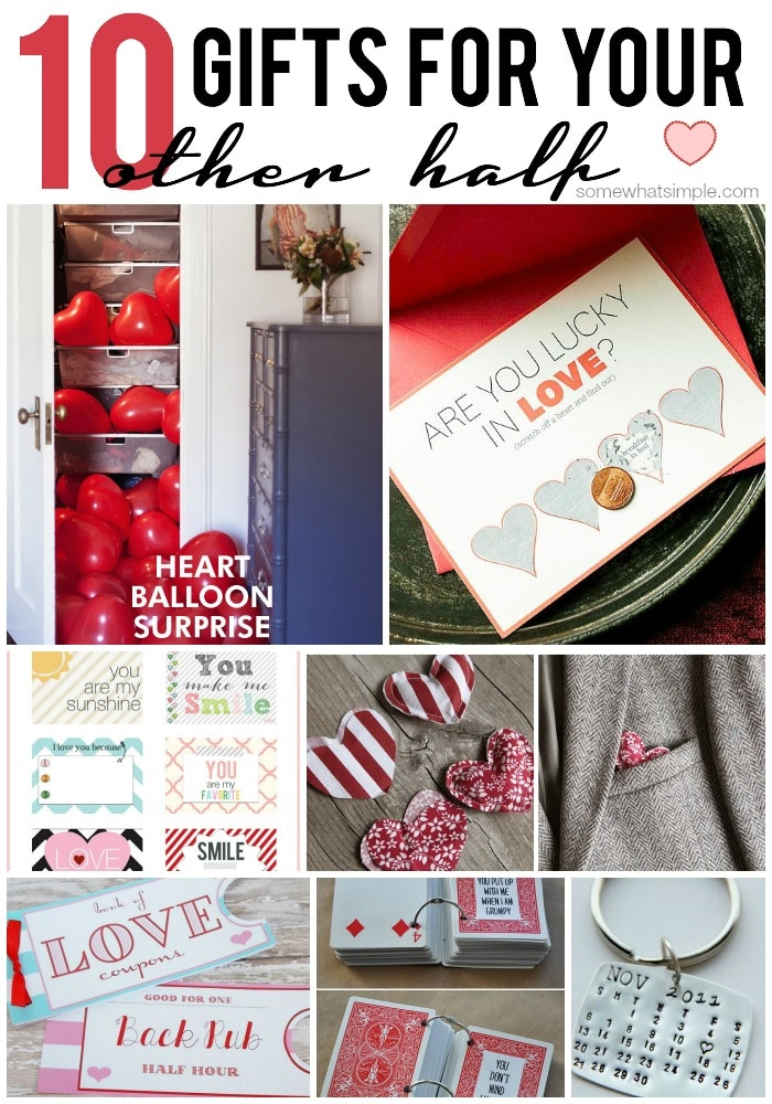 10 handmade gifts for him somewhat simple for Gifts for your valentine